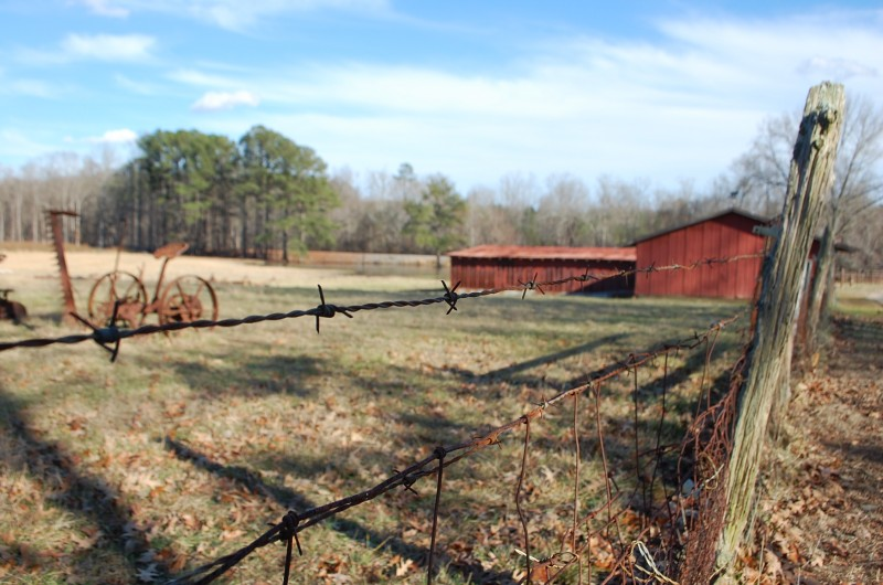 Barbed Wire Barn