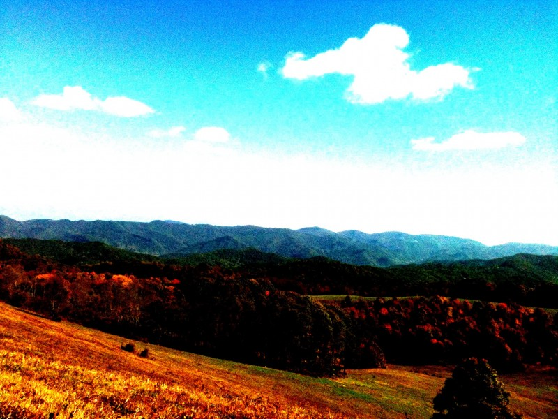 Max Patch- Off the Appalachian Trail - Edited
